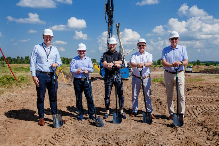 Construction of EUR 4 million building begins in Manufacturing Innovation Valley