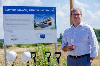 Pradėta Gamybos inovacijų slėnio statyba
